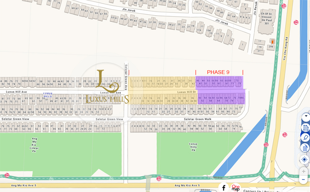 luxus hills phase 8 and 9 site plan